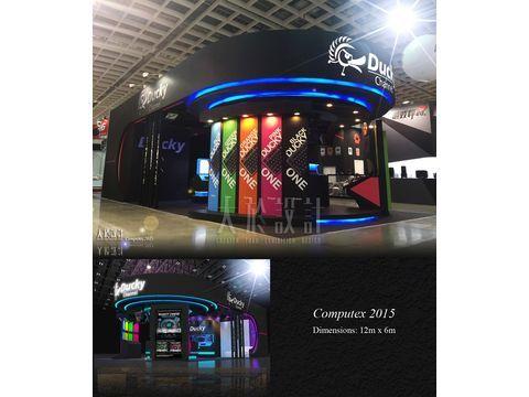 2015 Computex世貿展場設計