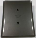 (鐵灰色)上蓋-塑膠射出成型|MOZI