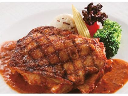 欧式香草烤鸡腿排-(volks沃克牛排)全家国际餐饮股份