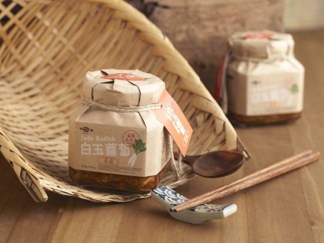 傳統醬菜專賣│明德食品─白玉蘿蔔