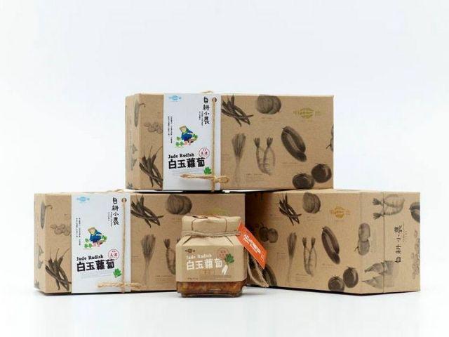傳統醬菜專賣│明德食品─白玉蘿蔔禮盒