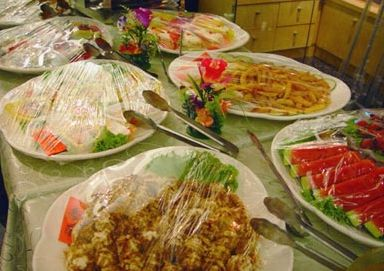 欧式自助餐 buffet