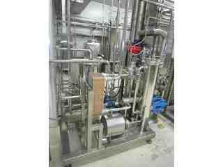 高壓均質機–殺菌機熱水系統