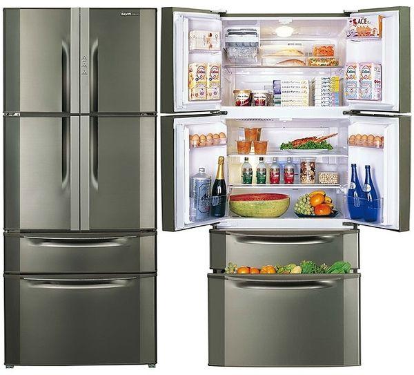 说明:sr-610bv  双门变频冰箱  尺寸mm:宽770/深765/高1825  电压v