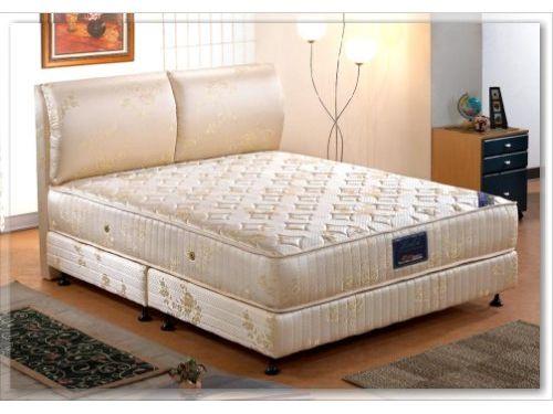 LooCa矽膠硬式獨立筒床墊/床組