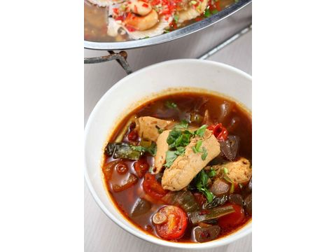 臭豆腐炖鸭血-Lacuz番禺食餐厅(孟泰企业社)-美2017美食节哪新泰在图片