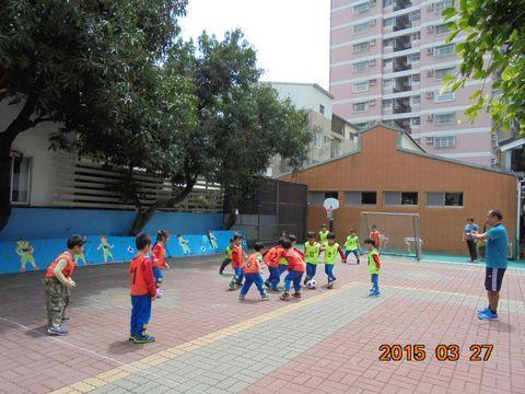 台南雙語幼兒園操場