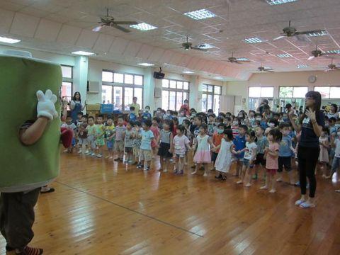 台南雙語幼兒園環保娃娃