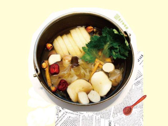 藥膳素燕溫補鍋