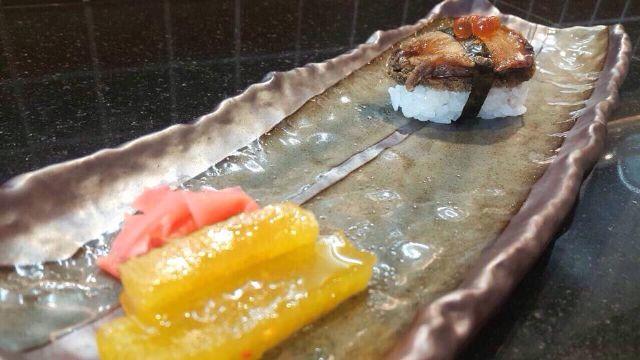 鮑魚握壽司