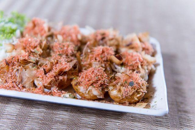 櫻花蝦章魚燒