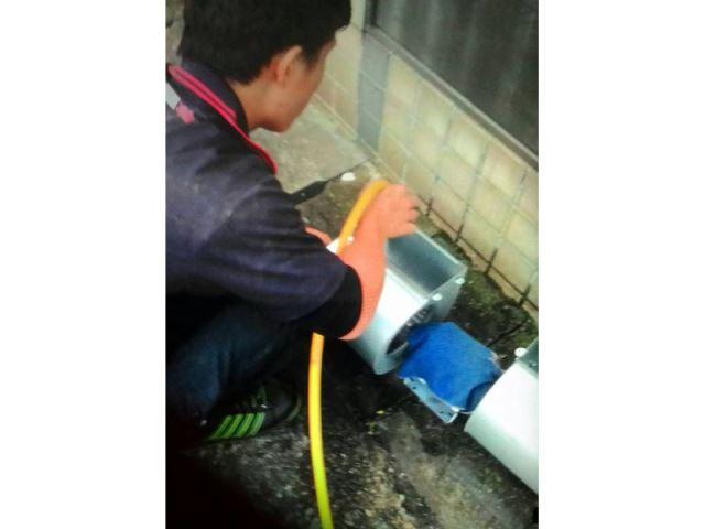 內湖冷氣維修保養-清洗風鼓