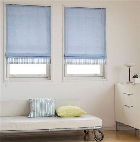 羅馬窗簾-台中夏悅窗簾
