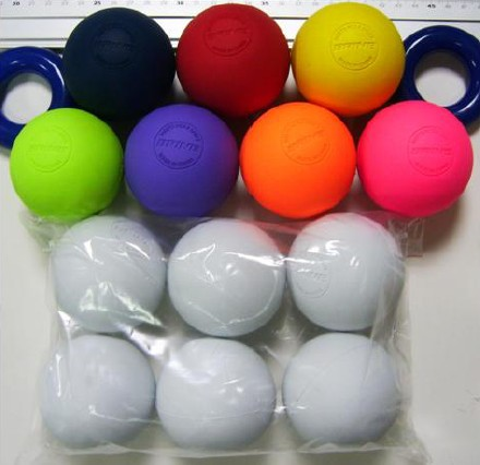 Rubber Lacrosse Ball
