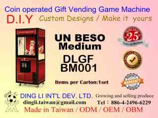 UN BESOgift vending game machine