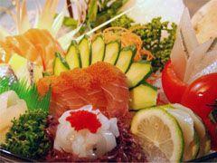 創意綜合生魚片