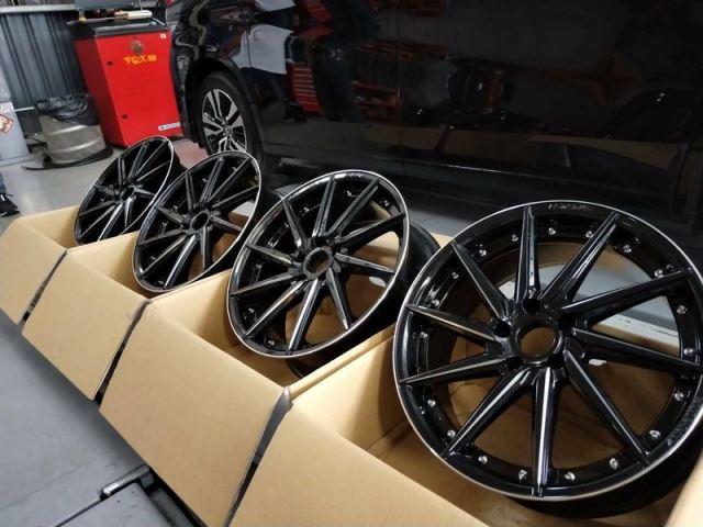 鍛造鋁圈輪胎