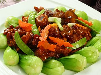 中式桌菜菜餚