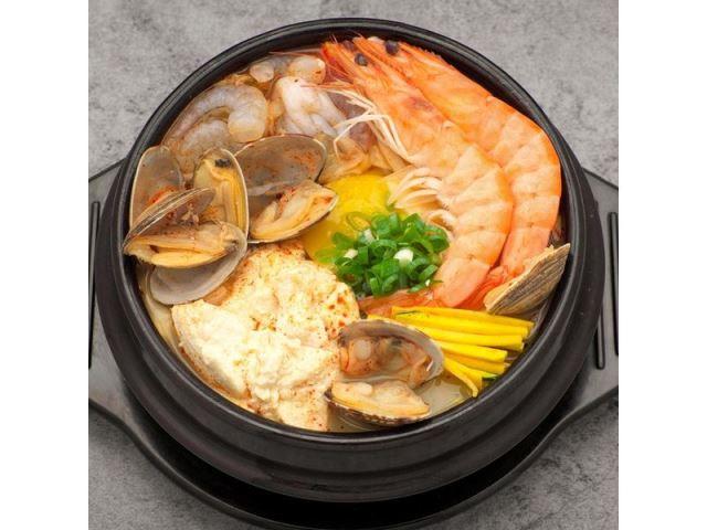 海鮮豬肉豆腐鍋