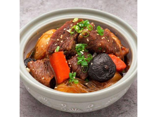 韓式大口吃燉牛小排鍋