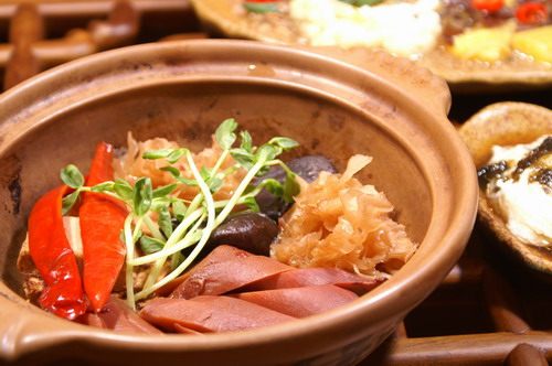 百香杏鮑菇素食套餐