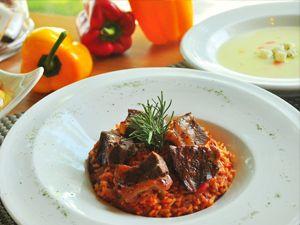 辣味蕃茄牛肉燉飯