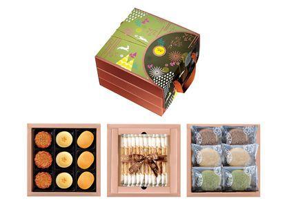 秋香綠之三層禮盒