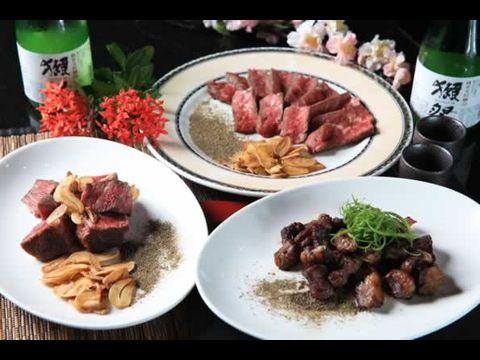 沙朗牛肉三吃