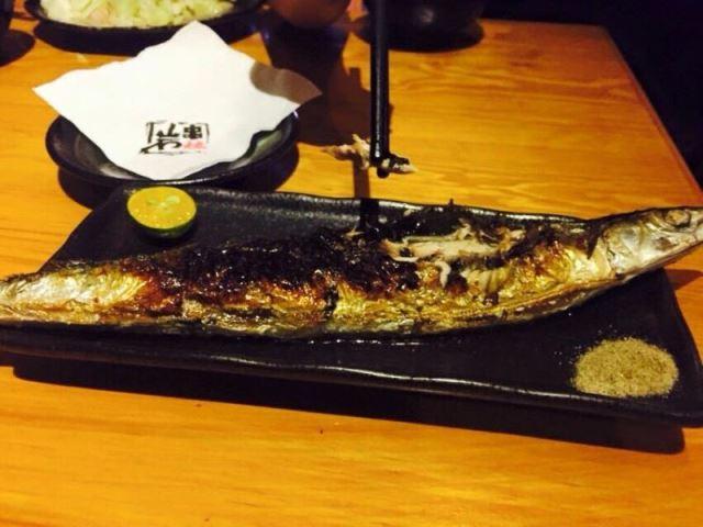 大安區日式燒烤-秋刀魚