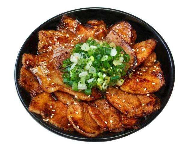 炭烤豚肉丼