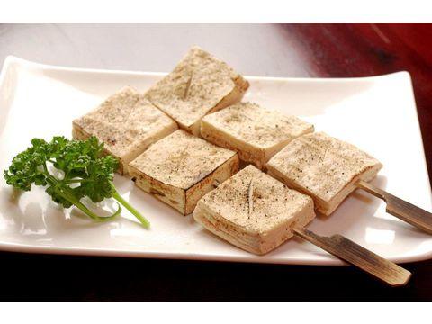 鹽烤百頁豆腐