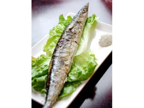 鹽烤秋刀魚
