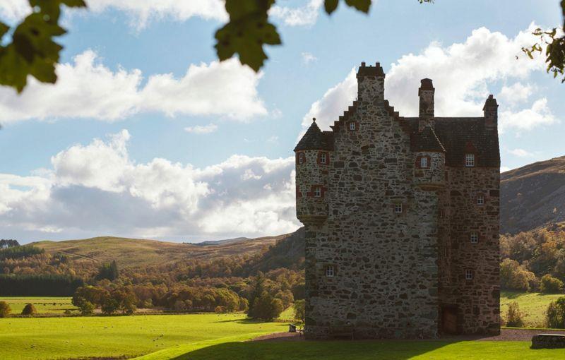 高地古堡重拾光華榮耀。蘇格蘭